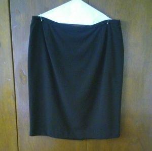 Calvin Klein Black Suit Skirt (14)